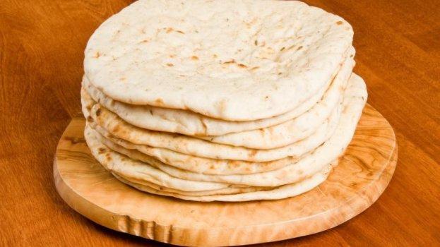 Pão Sírio de Microondas
