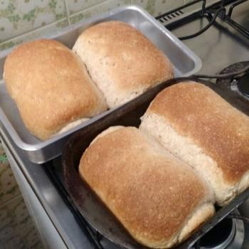 Pão Multi-grãos Caseiro