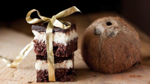 Brownie de Coco Saudável