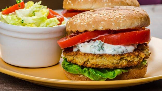 hambúrguer vegetariano/cybercook