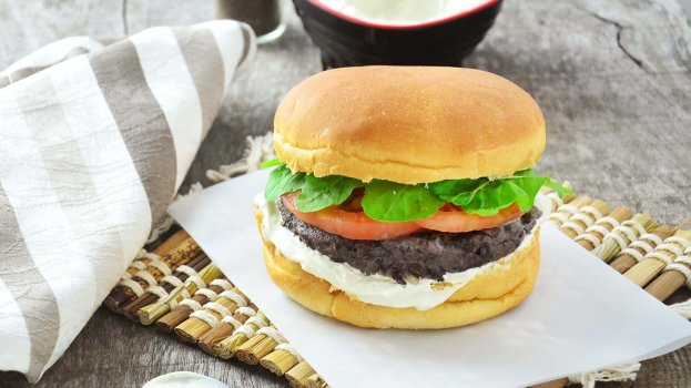 Hambúrguer Vegano de Feijão