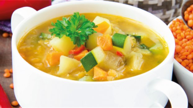 Sopa de Legumes Fácil