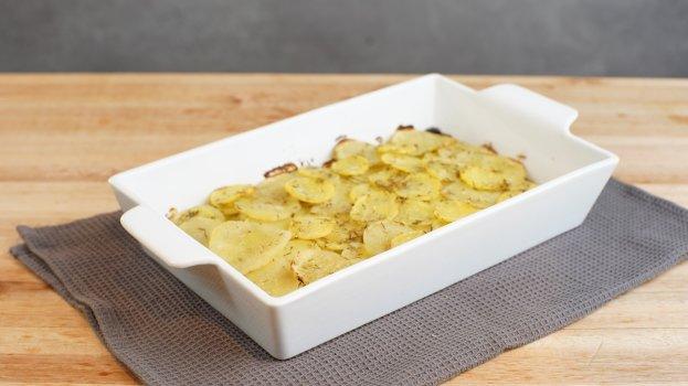 Mil folhas de batatas doces