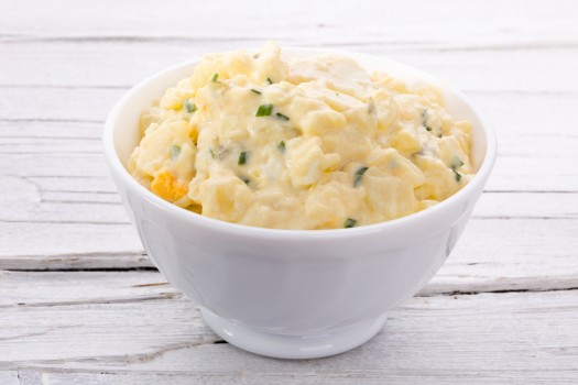 Salada de Batata Doce com Ovo Cozido Fit