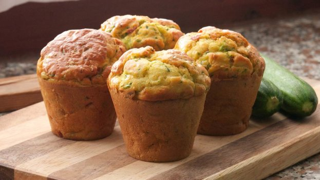 Muffin de Espinafre Com Cenoura Sem Lactose