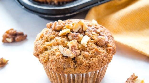 Muffin Low Carb de Nozes