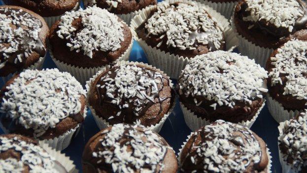 Cupcake Low Carb Prestígio