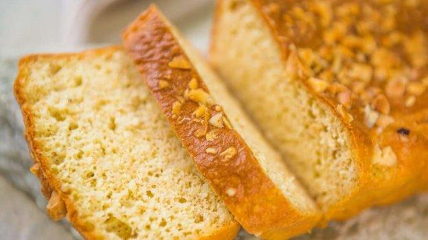Pão Low Carb de Parmesão