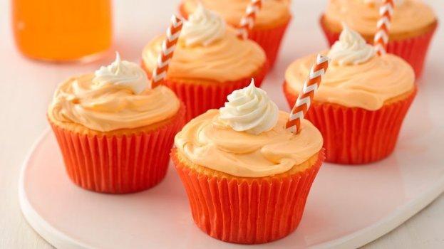 Cupcake de Laranja Fácil