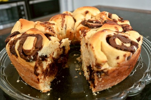 Pão Estrela de Nutella | CyberCook