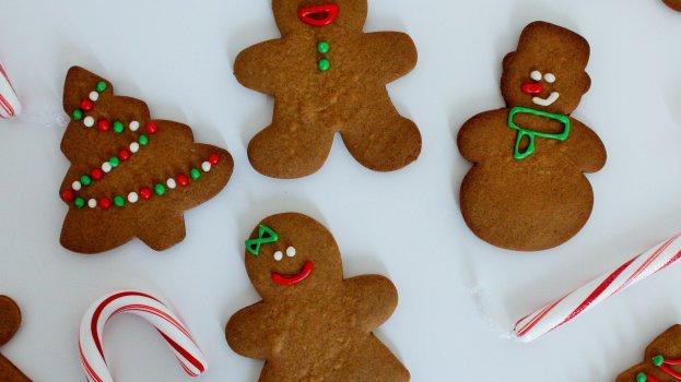 Biscoito de Natal Integral
