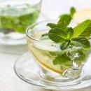 Chá de Erva-cidreira com Hortelã