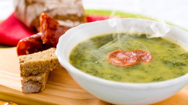 Sopa Low Carb Verde