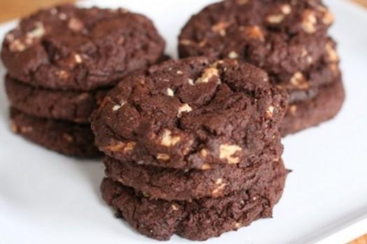 Cookies de Chocolate Integral