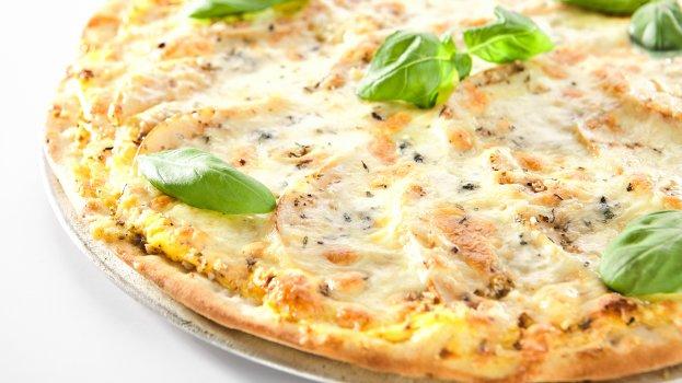 Pizza Básica de Pão Sírio