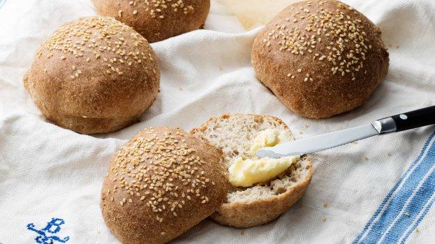 Pão De Hambúrguer Low-Carb