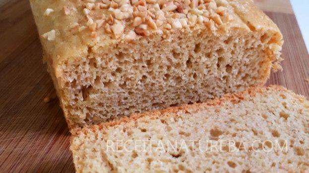 Pão Low-Carb De Amendoim