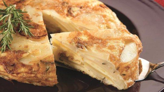 Omelete de batata/CyberCook