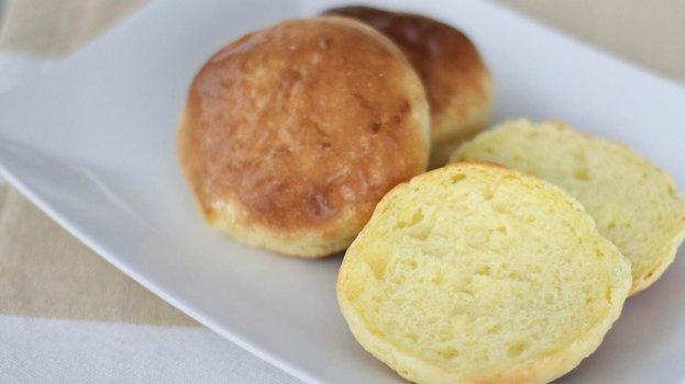 Pão de Leite em Pó com 3 Ingredientes