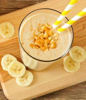 Vitamina de Banana e Pasta de Amendoim   CyberCook