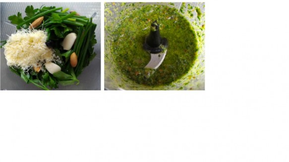 Pesto Genovese com Baru