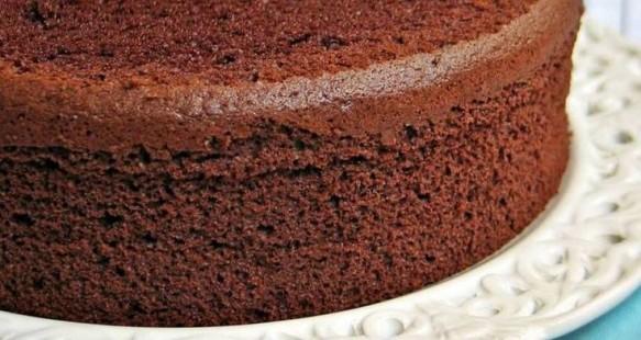 Pão-de-Ló de Chocolate | CyberCook