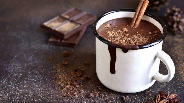 Choconhaque e Chocolate Quente Vegano