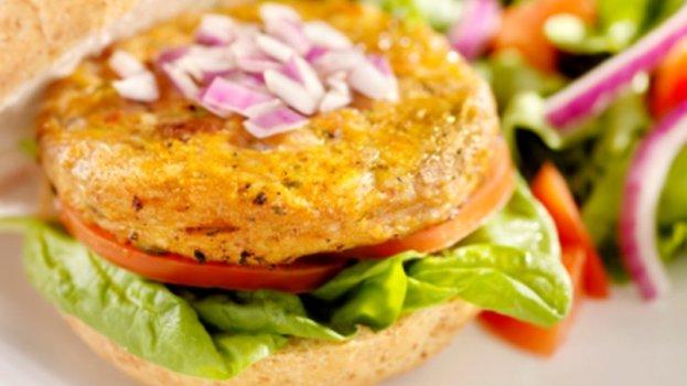 Hambúrguer de Aveia Vegano
