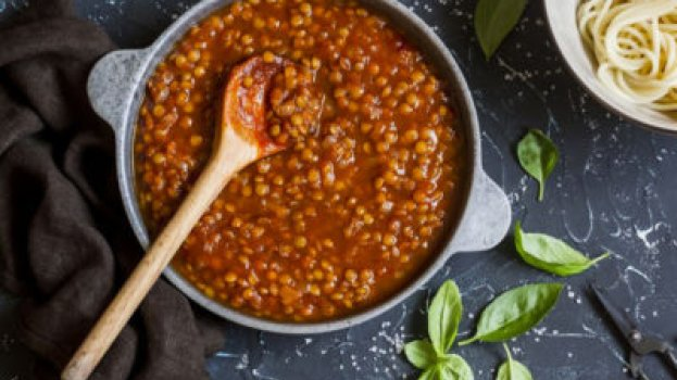 Molho Bolonhesa de Lentilha Vegano