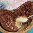 Ovo de Colher de Leite Ninho com Nutella