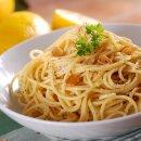 Espaguete Al Limone com Frango