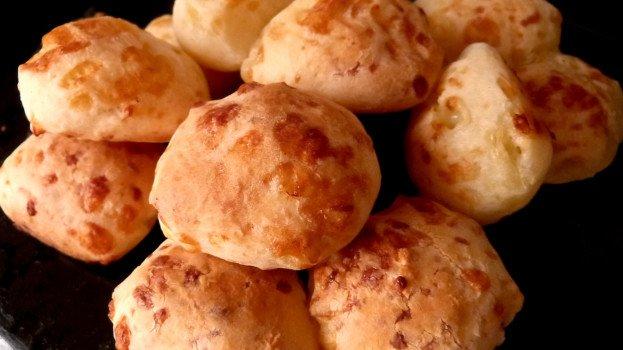 Pão de Queijo (para intolerantes à lactose)