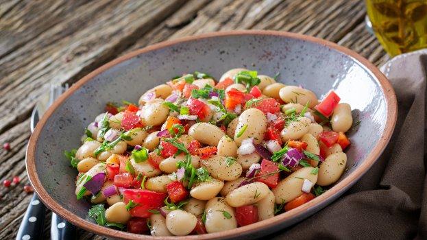 Salada de Feijão Verde