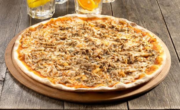 Pizza de couve flor fit