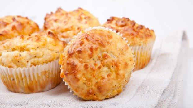 Muffin de parmesão/CyberCook