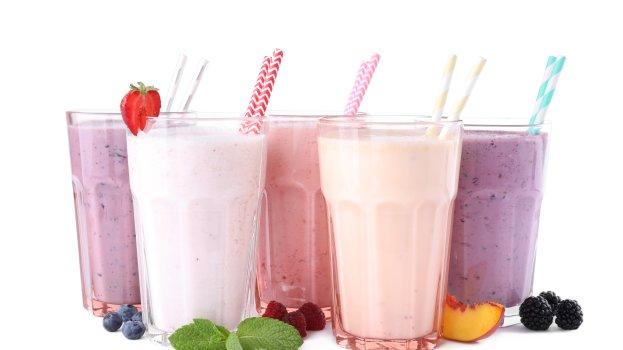 Vitamina de Leite com Frutas