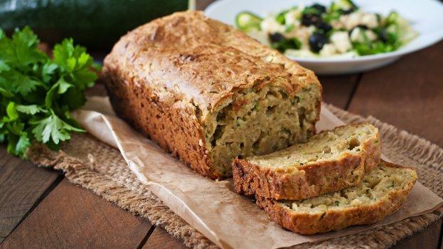 Pão Vegano de Abobrinha