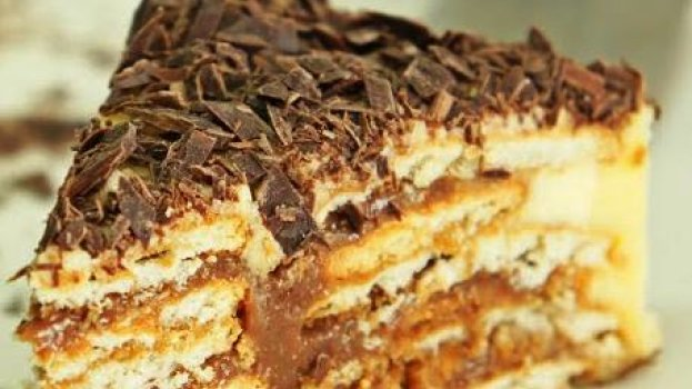 Bolo de Bolachas com Chocolate