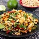 Pad Thai Vegano com Vegetais