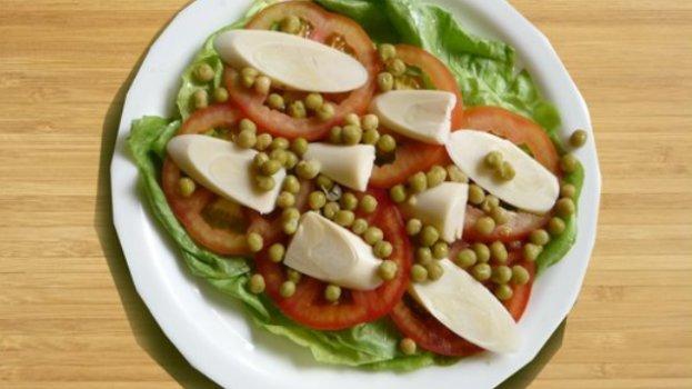 Salada de Ervilha do Família Burger