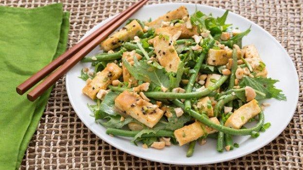 Salada de Tofu Marinado