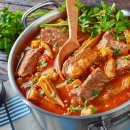Carne com Quiabo