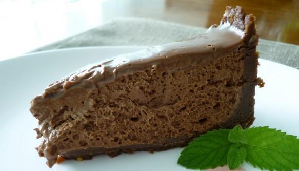 Torta Mousse de Chocolate com Abacate   CyberCook