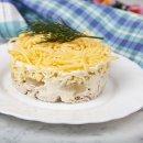 Salada Tropical com Frango Defumado