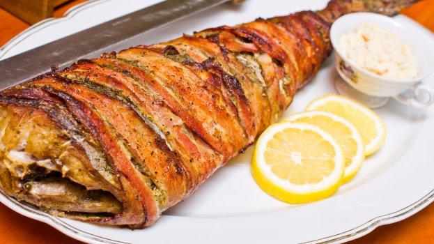 Torta de Tilápia e Bacon
